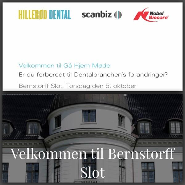 Event på Bernstoff slot