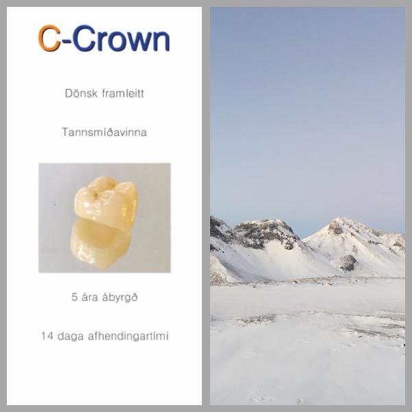 C-Crown rejser til det kraftfulde land